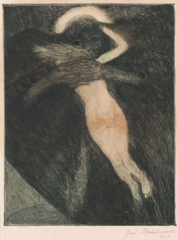 Kobieta i demon, 1909