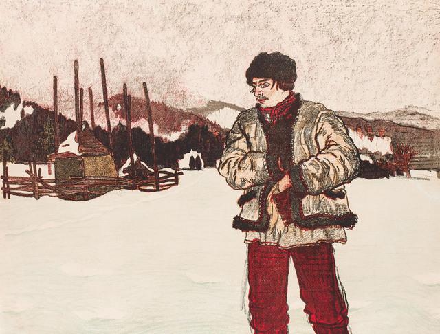 "Hucuł z teki ""Lamus"", 1912"