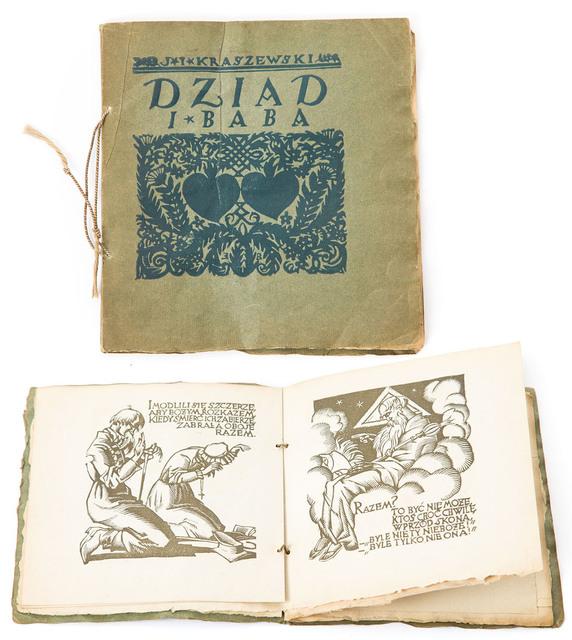 """Ignacy Kraszewski, """"Dziad i Baba"""", ilustrował Edmund Bartłomiejczyk, 1922"""