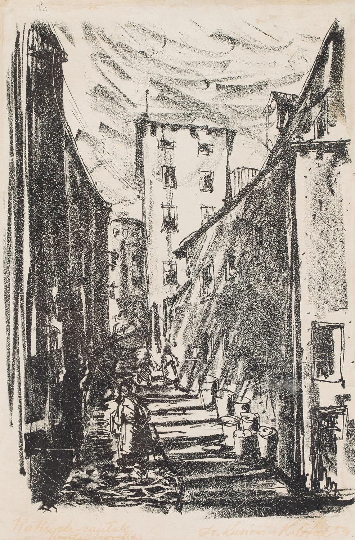 """""""Wałbrzych - Zaułek"""", 1954"""