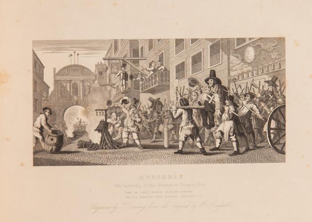 """HUDIBRAS"" wg Hogartha, 1836"