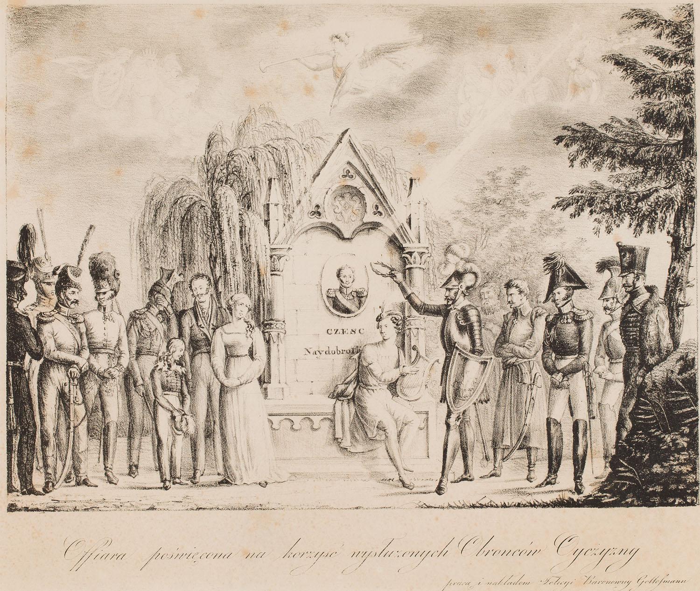 Aleksander CHODKIEWICZ (warsztat) (1776 Czarnobyl - 1838 Młynów)