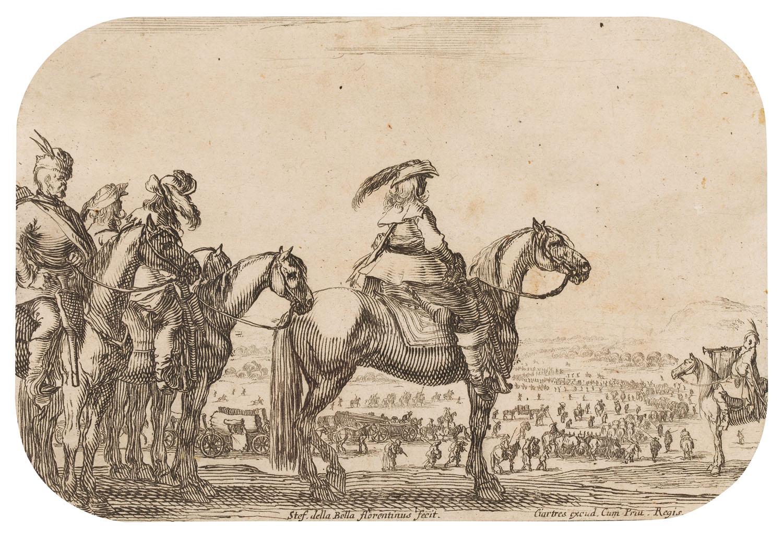 Władysław IV przeglądający wojska, 1646