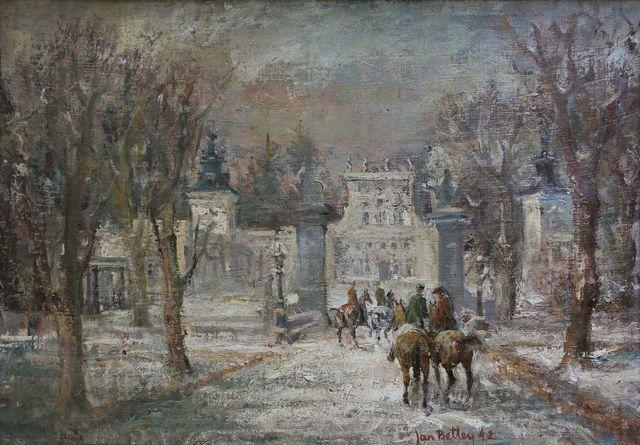 Wilanów zimą (1942)