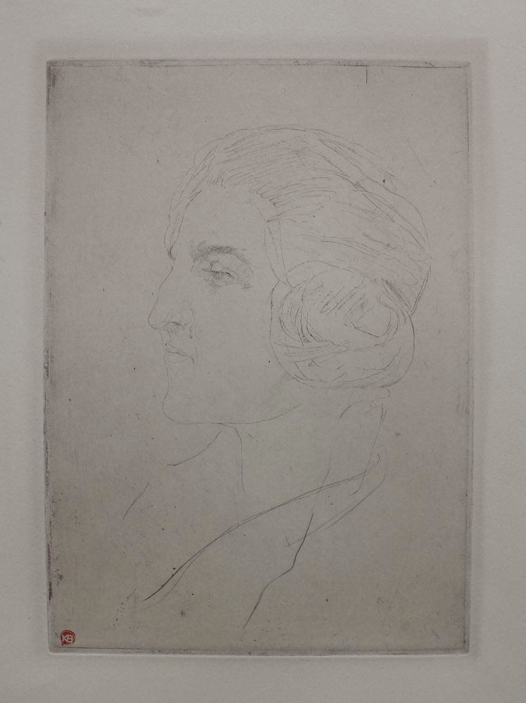 Adrienne, profil duży (ok.1927)