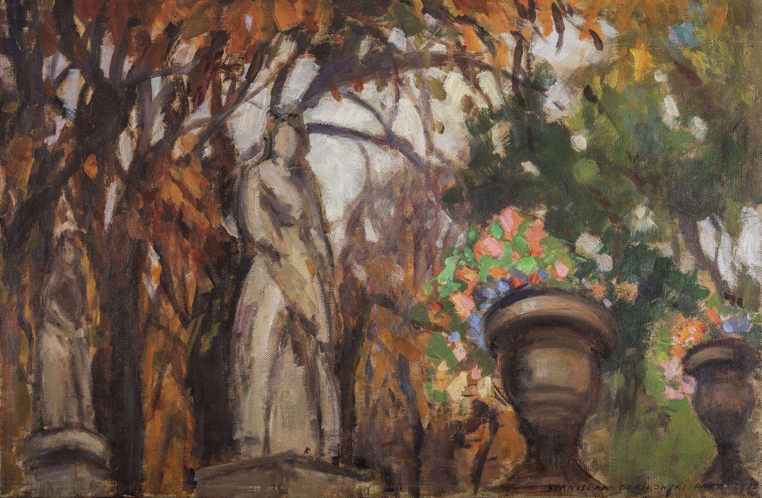 Ogród Luksemburski w Paryżu (1912)