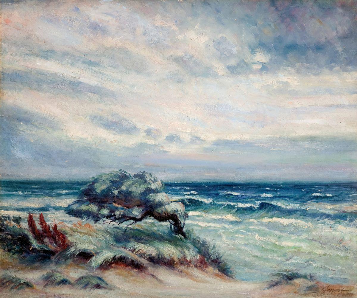 Wiatr nad morzem (1945)