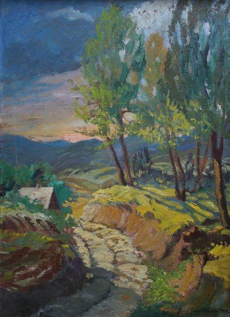 Pejzaż z drogą (1969)