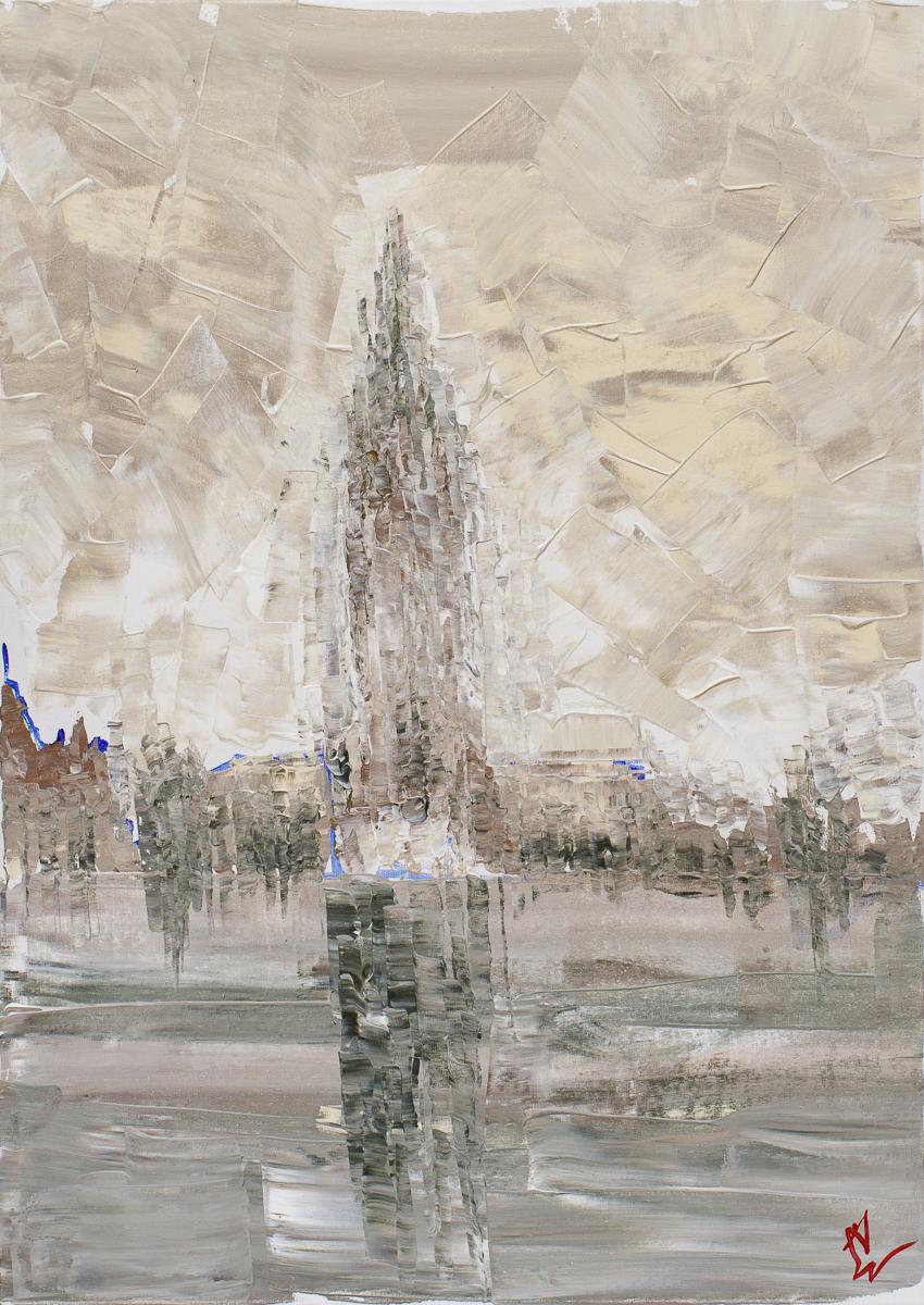 Kraków we mgle, 2020