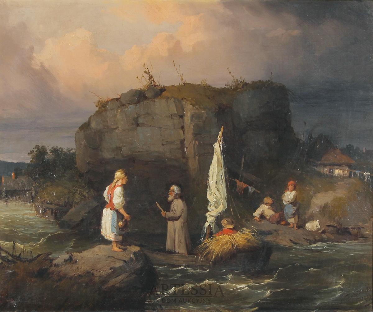 Przeprawa, 1856