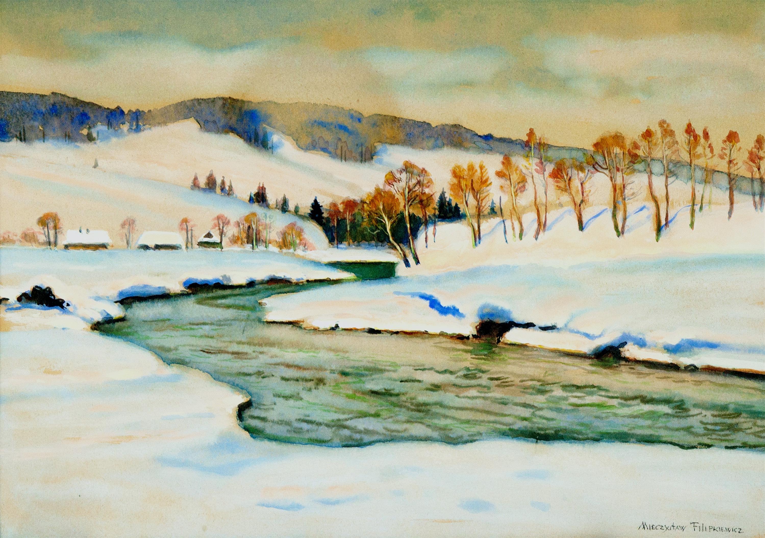 Zima w górach, ok. 1930