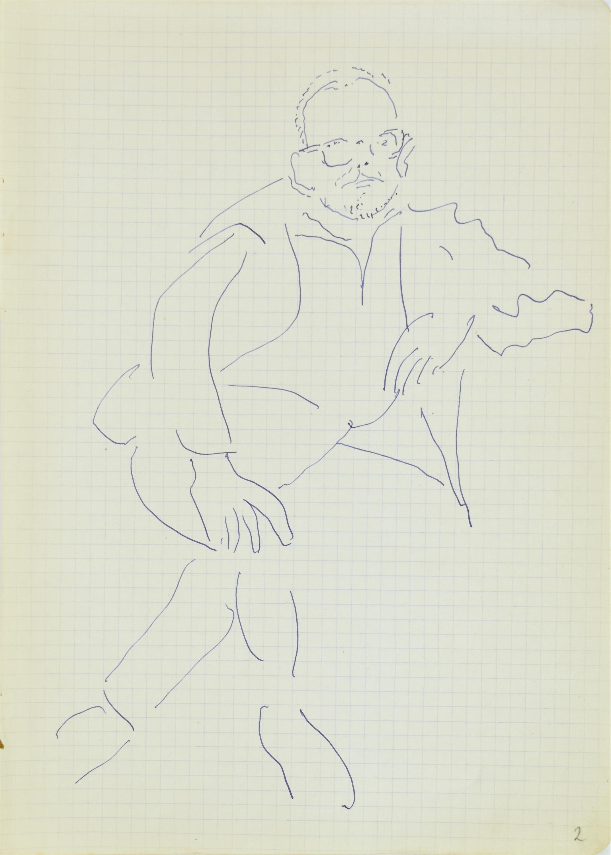 Autoportret siedzący