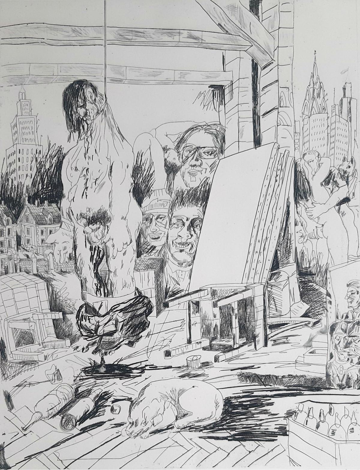 Emigracja, 1985 r.