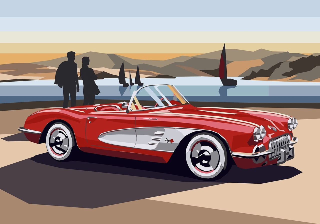 Red Corvette, 2020