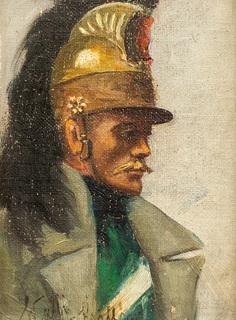 Portret mężczyzny, 1924