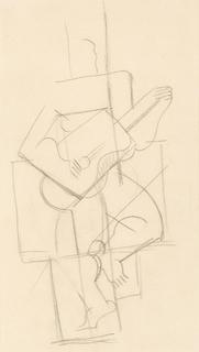 Rysunek kubistyczny IV 7 268