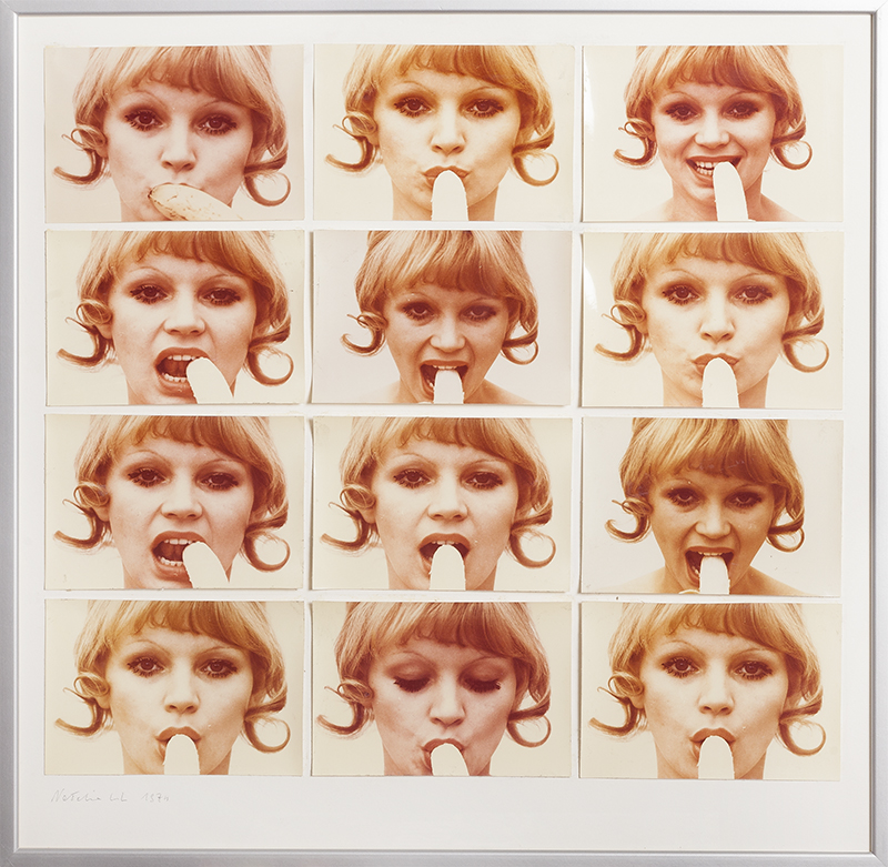 Sztuka konsumpcyjna (zestaw 12 fotografii), 1974