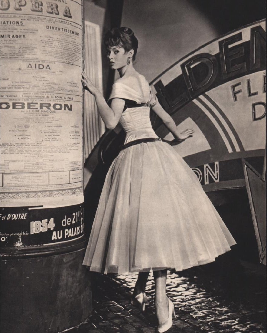 Brigitte Bardot, lata 50.