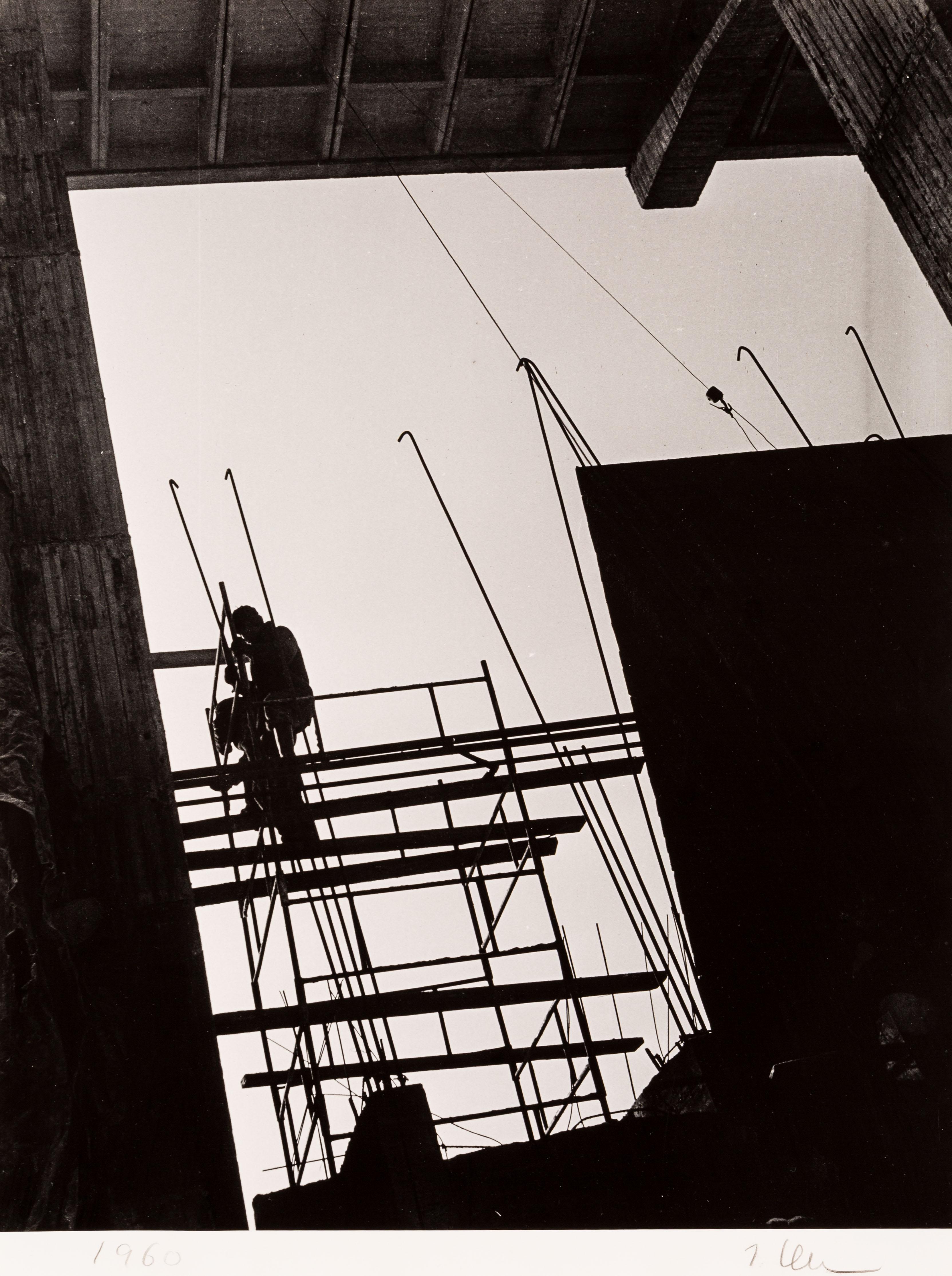 Bez tytułu (Rusztowanie), 1960