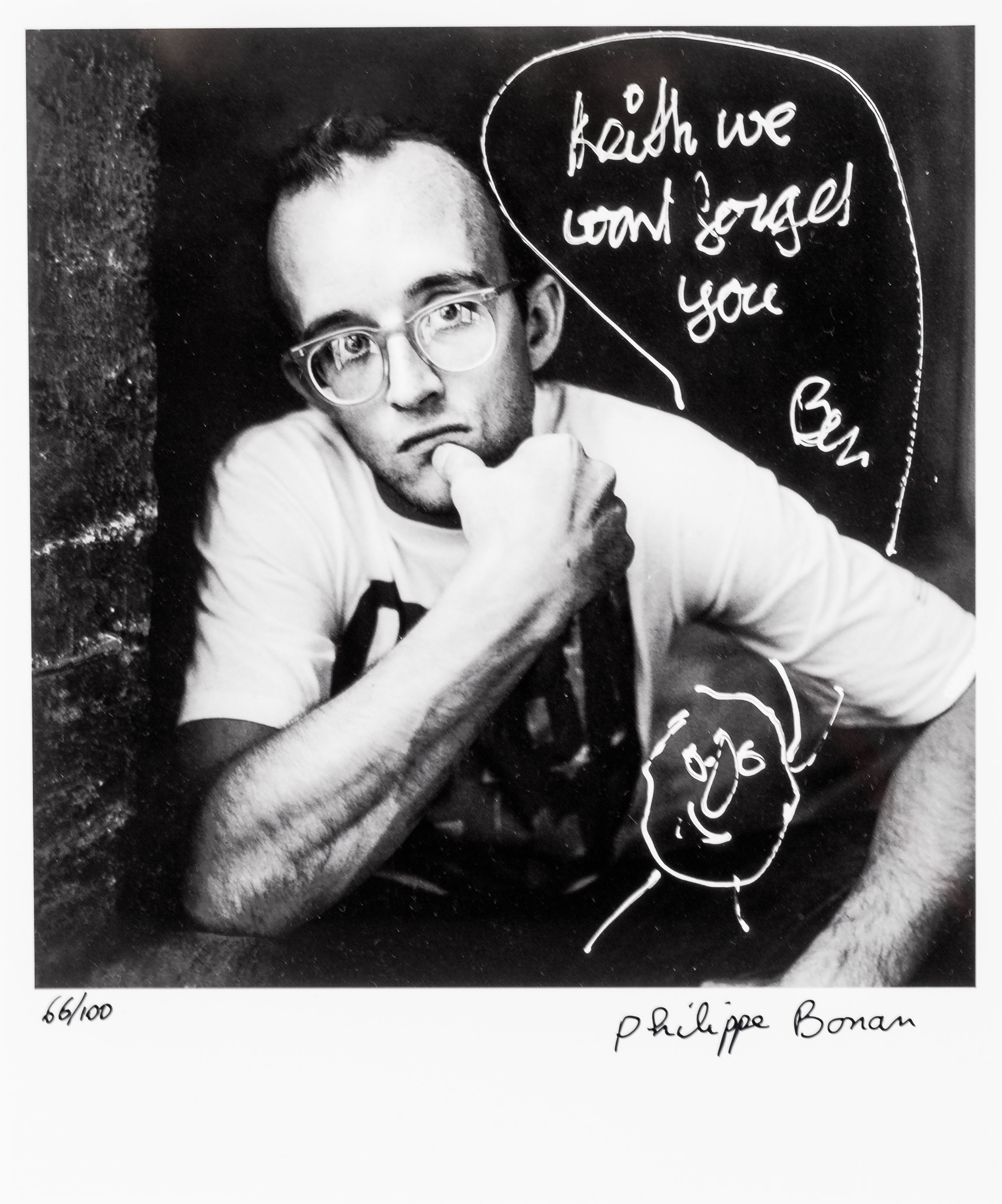Keith Haring + Ben, 2014