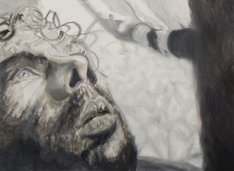 Bez tytułu (męski portret)