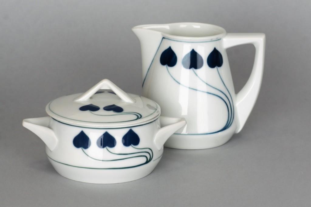 Cukiernica (1904 r.) i mlecznik (1907 r.), Niemcy Rosenthal Selb