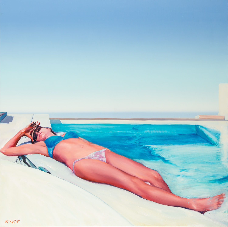 Z cyklu 'Swimming Pool', Madame EV' 15 , 2020