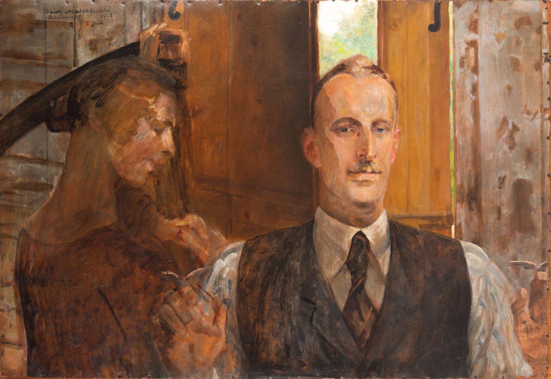Portret Bronisława Preidla ze Śmiercią, 1925