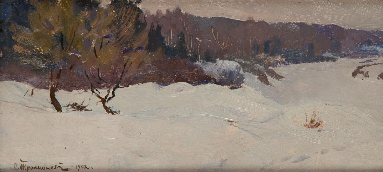 Zima w dolinie, 1902