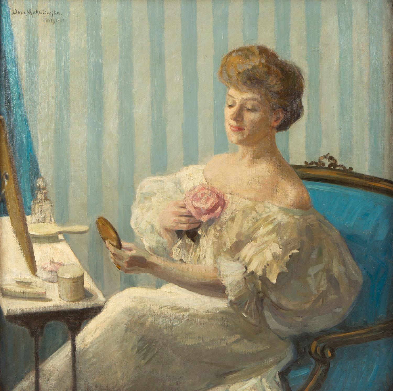 """""""Portret p. N.N."""", 1907"""