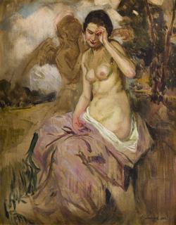 Alegoryczny akt kobiecy, 1925