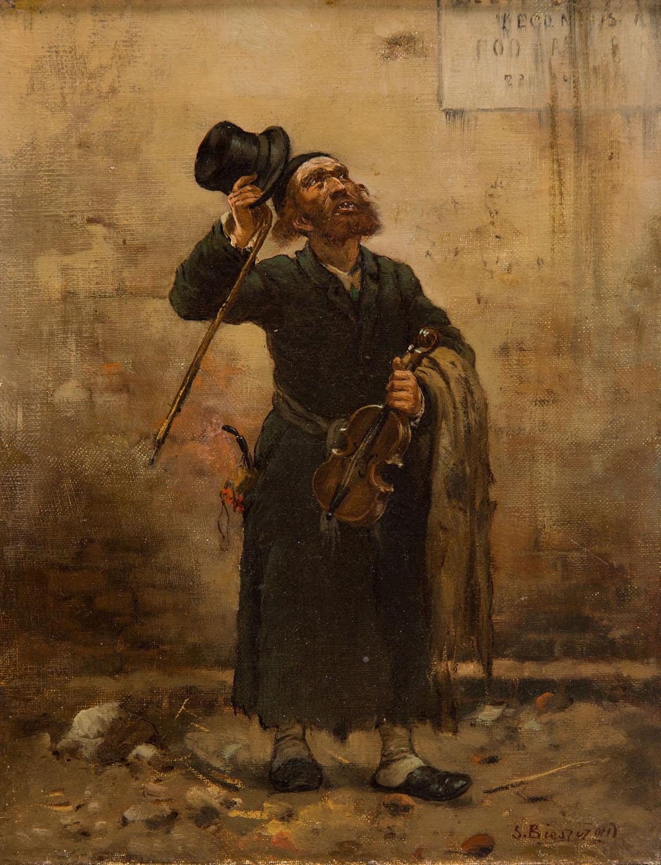 Żydowski skrzypek