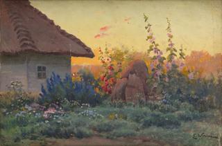 Malwy w wiejskim ogrodzie