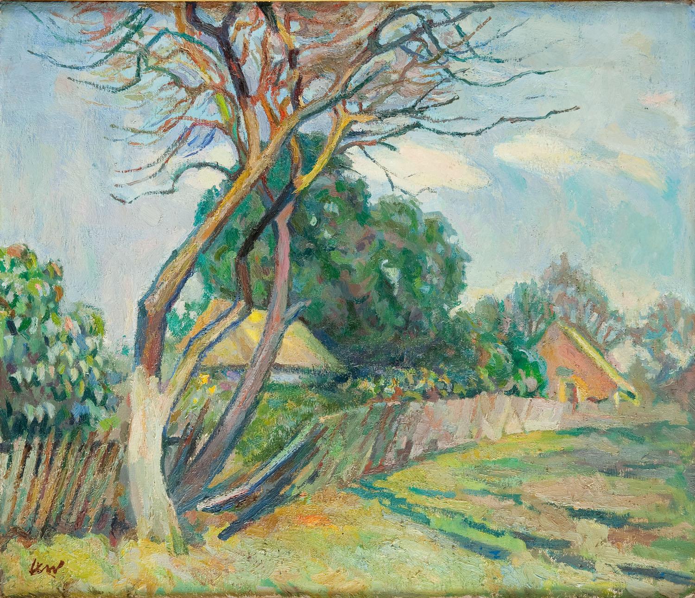 Krajobraz wiosenny, 1962