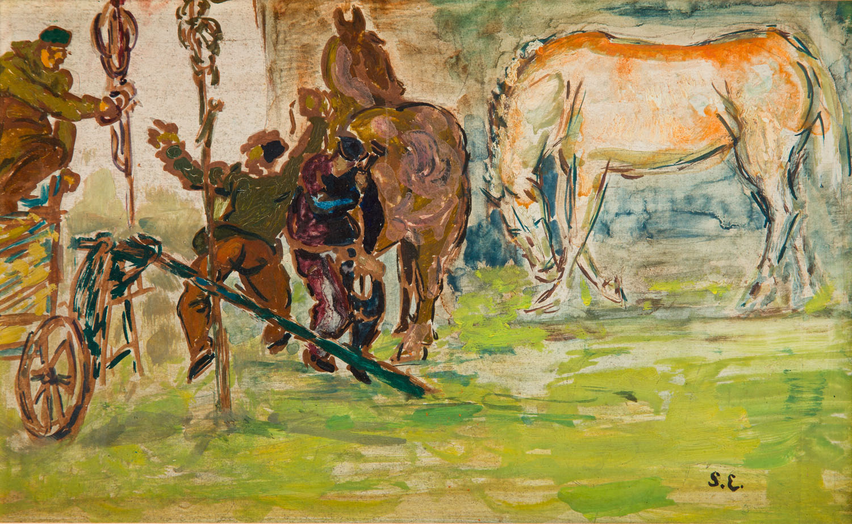 Podkuwanie koni