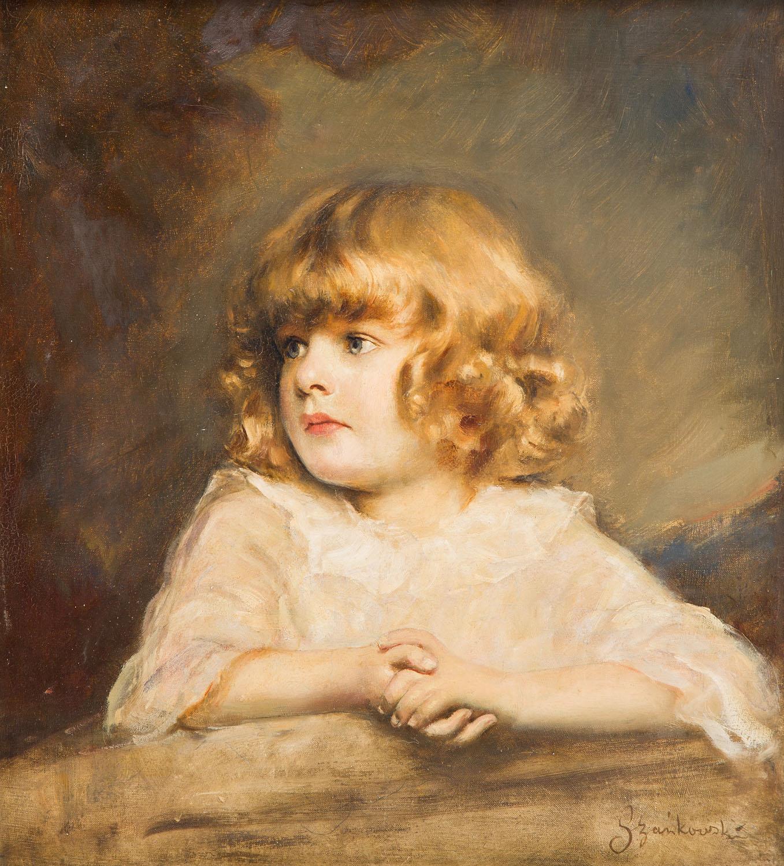 Portret Ady, córki artysty, około 1920