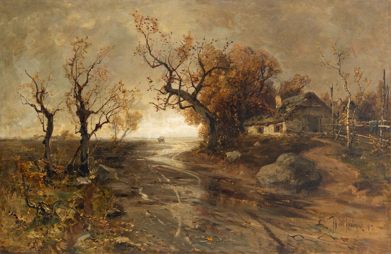 Pejzaż jesienny, 1895