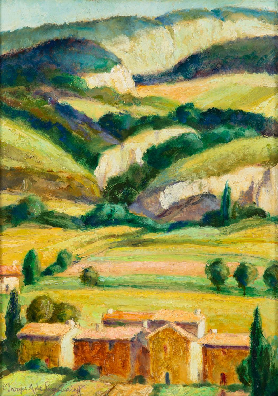 Pejzaż z francuskiego Ménerbes