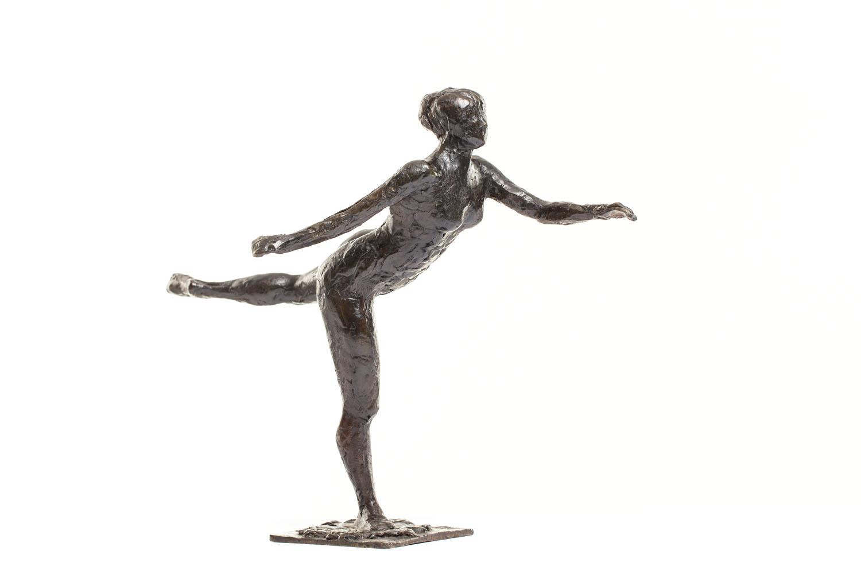"""Tancerka, otwarta arabeska na prawej nodze, lewe ramię do przodu"" (""Danseuse, arabesque ouverte sur la jambe droite, le bras gauche en avant"")"