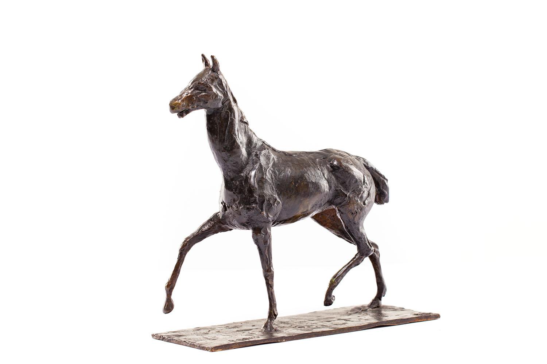 """Koń idący z podniesionymi kopytami"" (""Cheval marchant au pas relevé"")"