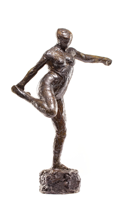 """Tancerka trzymająca prawą stopę w prawej dłoni"" (""Danseuse tenant son pied droit dans sa main droite"")"