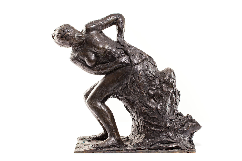 """""""Siedząca kobieta wycierająca swój lewy bok"""" (""""Femme assise s'essuyant le côté gauche"""")"""