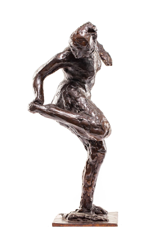 """Tancerka spoglądająca na spód swojej prawej stopy"" (""Danseuse regardant la plante de son pied droit"")"