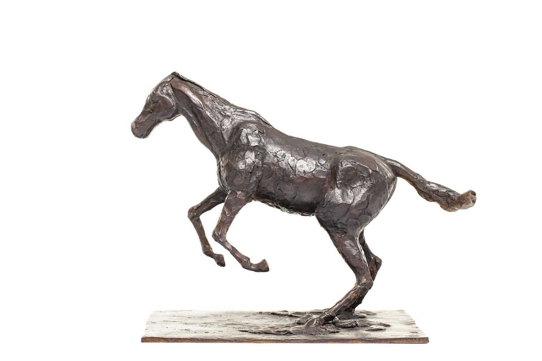"""""""Koń pokonujący przeszkodę"""" (""""Cheval s'enlevant sur l'obstacle"""")"""