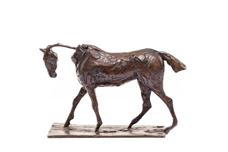 """""""Przechadzający się koń pełnej krwi angielskiej"""" (""""Cheval de pur-sang au pas"""")"""