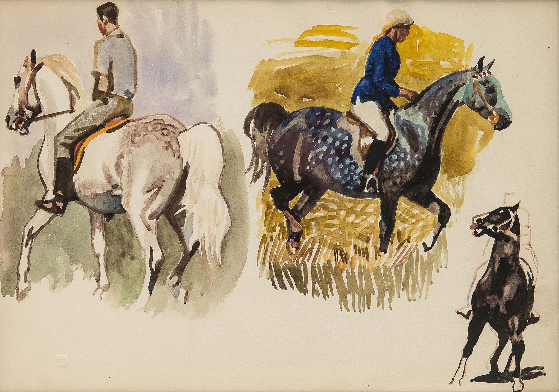 Dżokoje na koniach