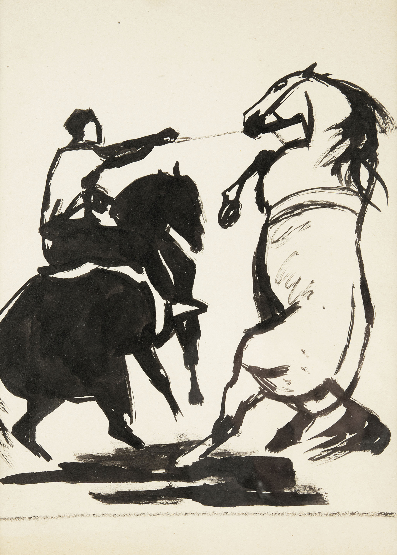 Kompozycja z końmi
