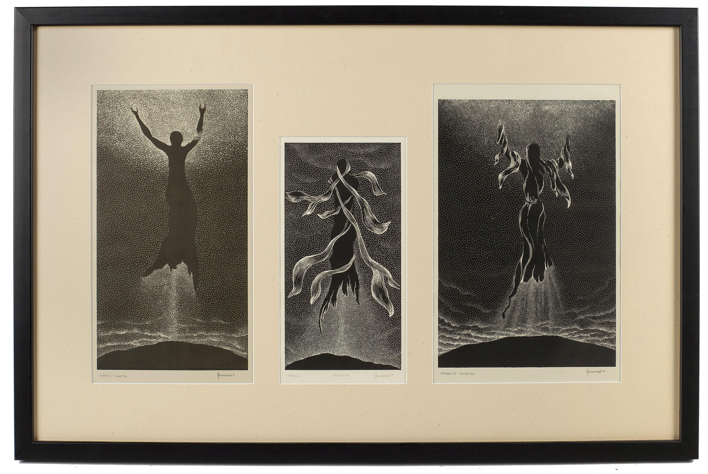 Katharsis I,II,III, tryptyk, 1979 r.