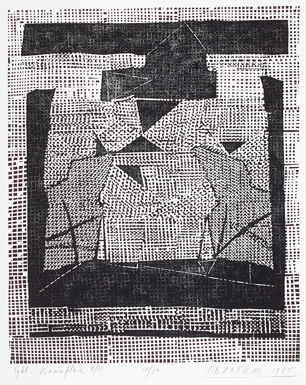 Styl i warsztat, teka 10 łódzkich artystów grafików, 1986 r.
