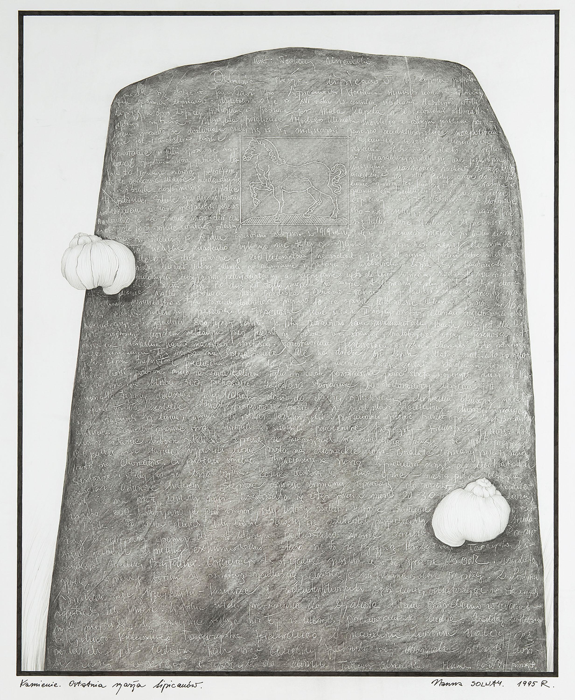 Kamienie. Ostatnia szarża lipicanów, 1995 r.